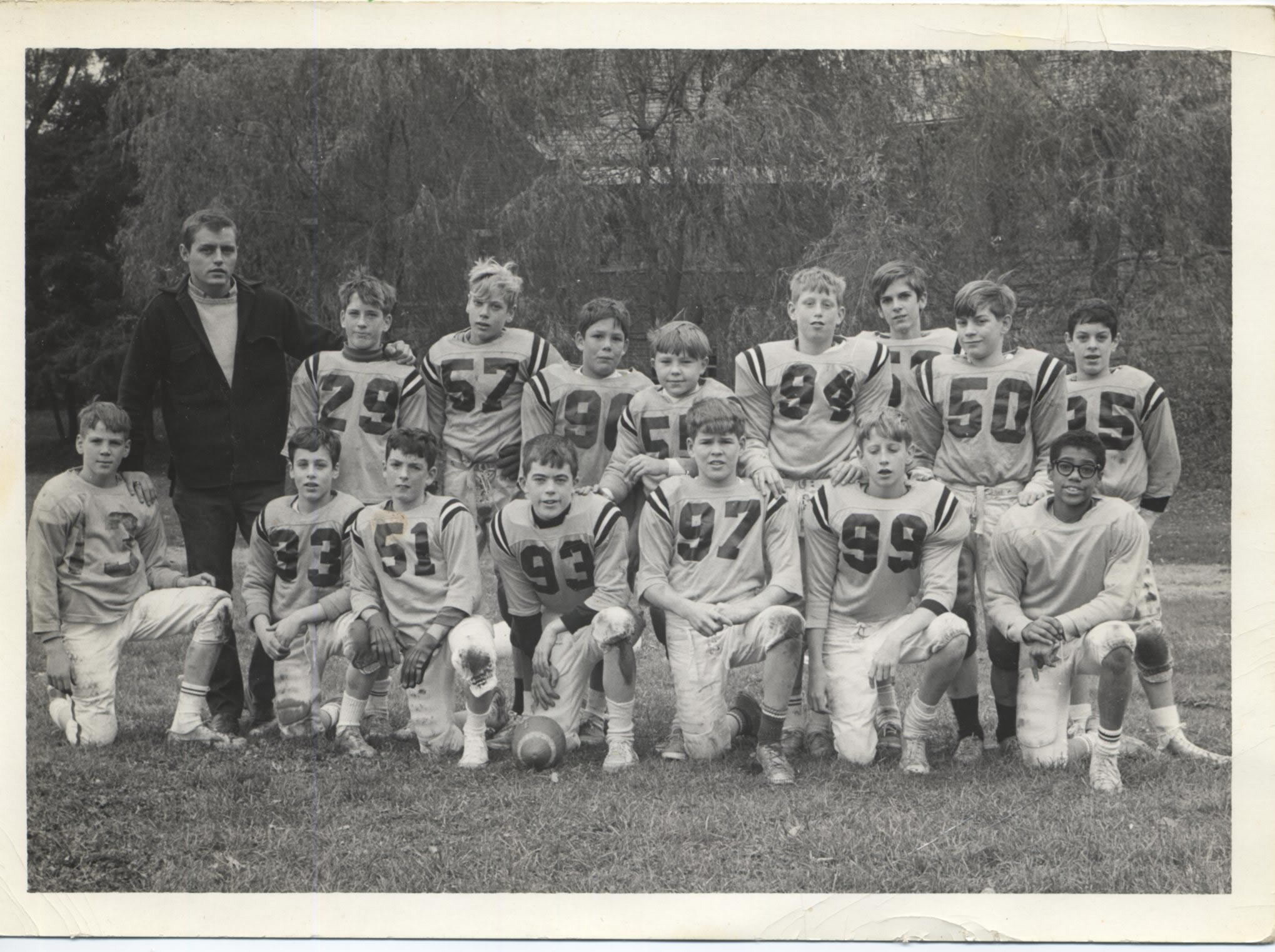 1967 New Castle Recreation Commission Big Six Football Champions