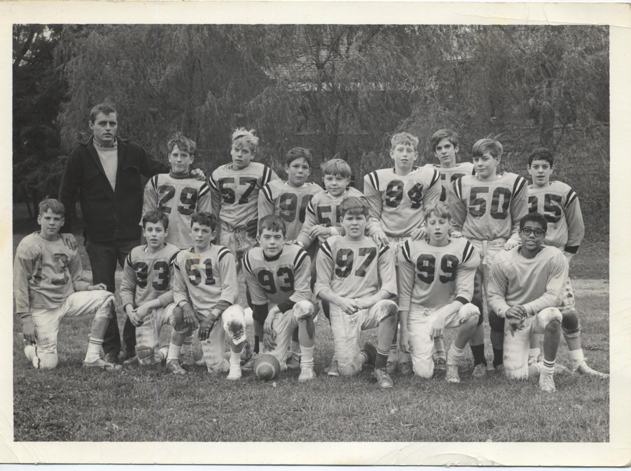 1967 New Castle Recreation Commission Big Six Football Champions