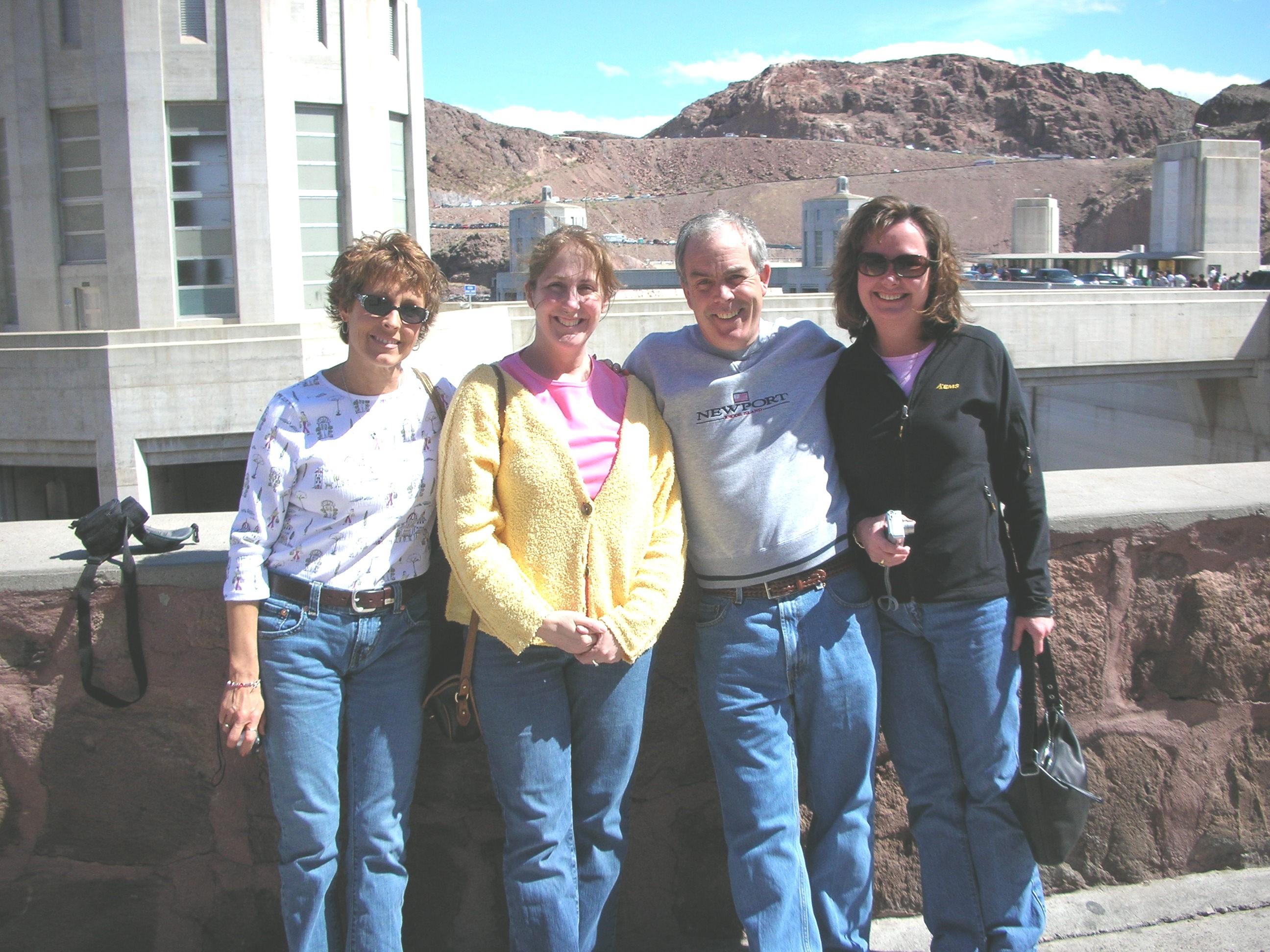 Sally, Donna, Frank & Karen
